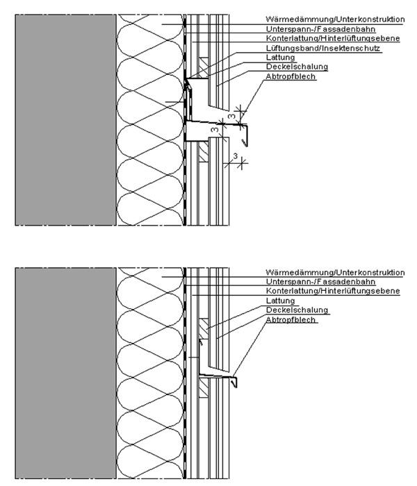 Bretterstoss Bei Deckelschalung Frag Den Architekt
