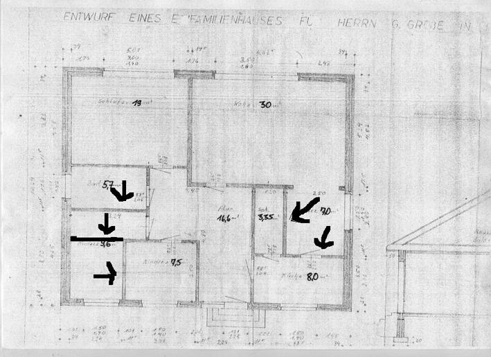 Waende Bungalow Abreissen Frag Den Architekt
